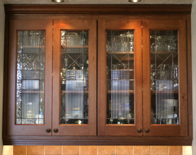 Awesome Stained Glass Cabinet Door Insert Idea